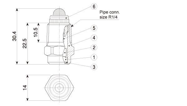full cone spray   small capacity disassemblable  j series nozzles
